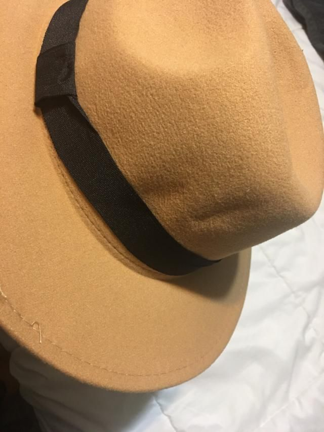 The hat was packaged in a bag and not a box. USPS delivered completely crushed. I've never been able to get it back to…