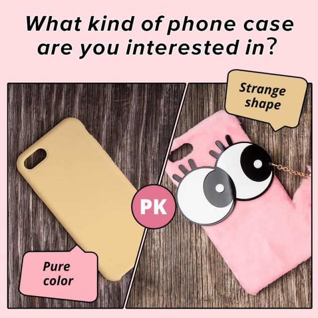 What kind of phone case are you interested in? A. Pure color B.Strange shape  Let us know your idea in the comment!…