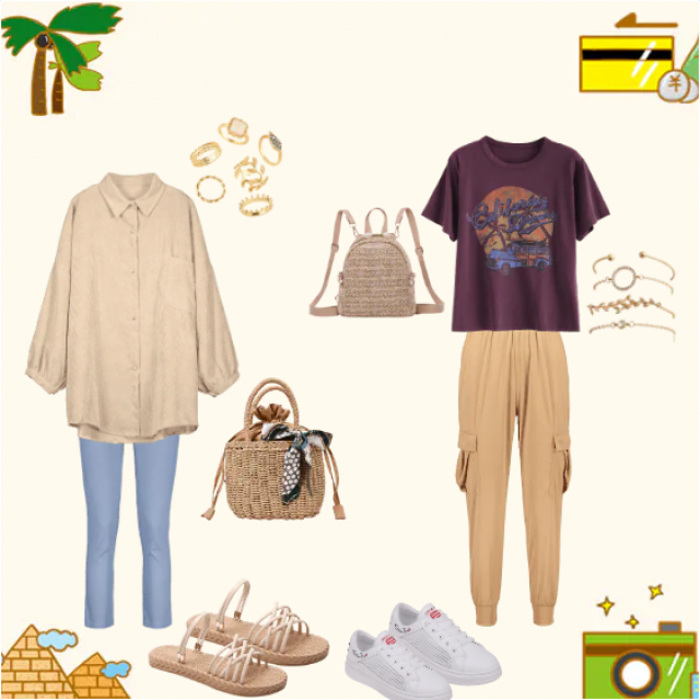 Outfit ideas for a middle eastern holiday (Egypt, Turkey, Cyprus, etc)