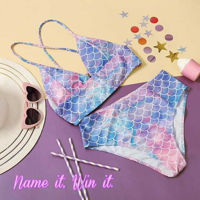 【Name this item and WIN!】  How would you name this double side bikini? Write down your ideas in the comment below. We w…