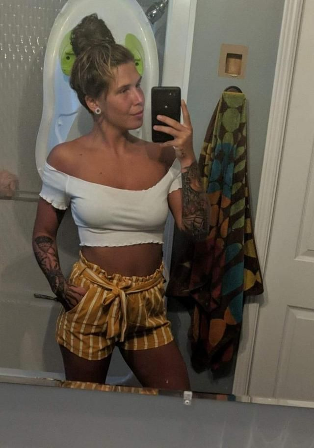 Absolutely love this!! I'm 5'5 125lbs and I ordered a small. Shorts are slightly snug and I pull them past my hips, bu…