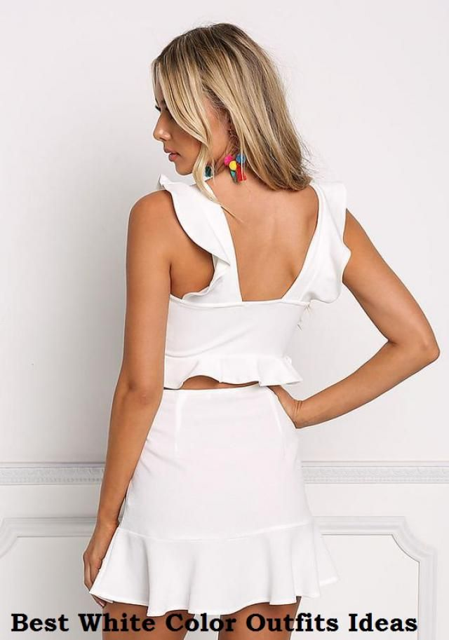 Best White Color Outfits Ideas