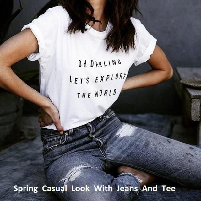 Every modern girl loves to feel relaxed in her outfit. Reclaim your favorite t-shirts with your jeans and get a perfect…