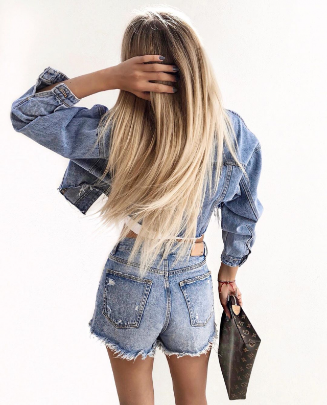 The you love denim, I think everybody does, you can find the best denim jacket and shorts here on Zaful