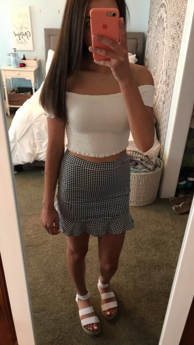 Love this skirt!!!! I'm usually an xsmall-small in most stores and after reading other reviews I decided to go 2 sizes…