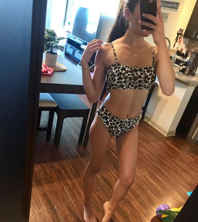 Super comfy, if you are bloated for period or stress this high waisted bikini disguise that. Looks so gorgeous and sav…