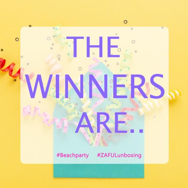 【Congrats to the winners】