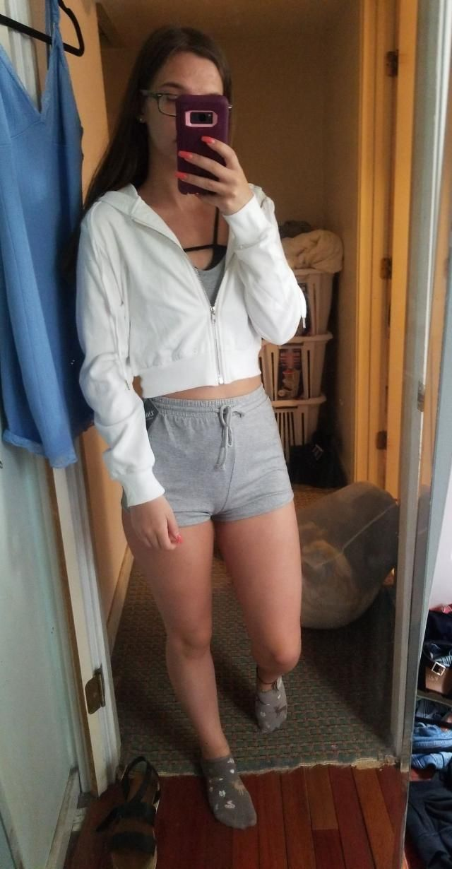 super cute. I&;ve been looking for a plan Zip up hoodie that isnt too long and this is perfect. Just wish the black wa…