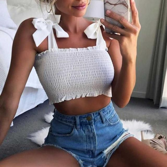 If you are looking for a cute white off shoulder top Zaful have the best ones