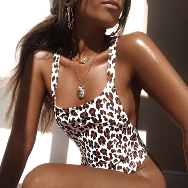 Leopard One-piece Swimsuit    Wonderful leopard one piece swimsuit.Zaful is your destination for shopping for one-pie…