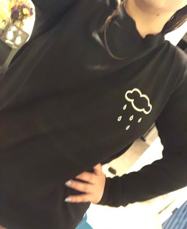 Very sad): I was expecting a sweat shirt, not a long sleeve T-shirt! Should have ordered at least an XL when I'm usual…