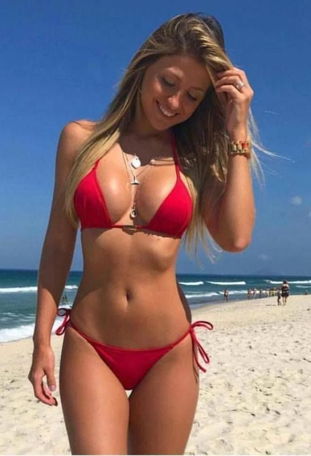 Red String Bikini Set   Zaful has created a collection of these and many other very attractive swimsuits for the summe…