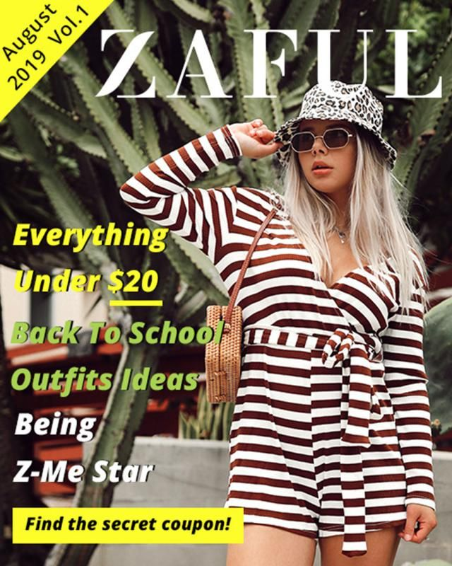 Do you want to be next Z-Me Star? What do you want to know about ZAFUL Magazine? Comment and let us know your ideas;). …