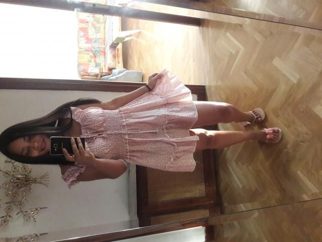 This dress is beautiful, fits me amazing!!!. A little short but it is perfect for me!!! I loved it :)