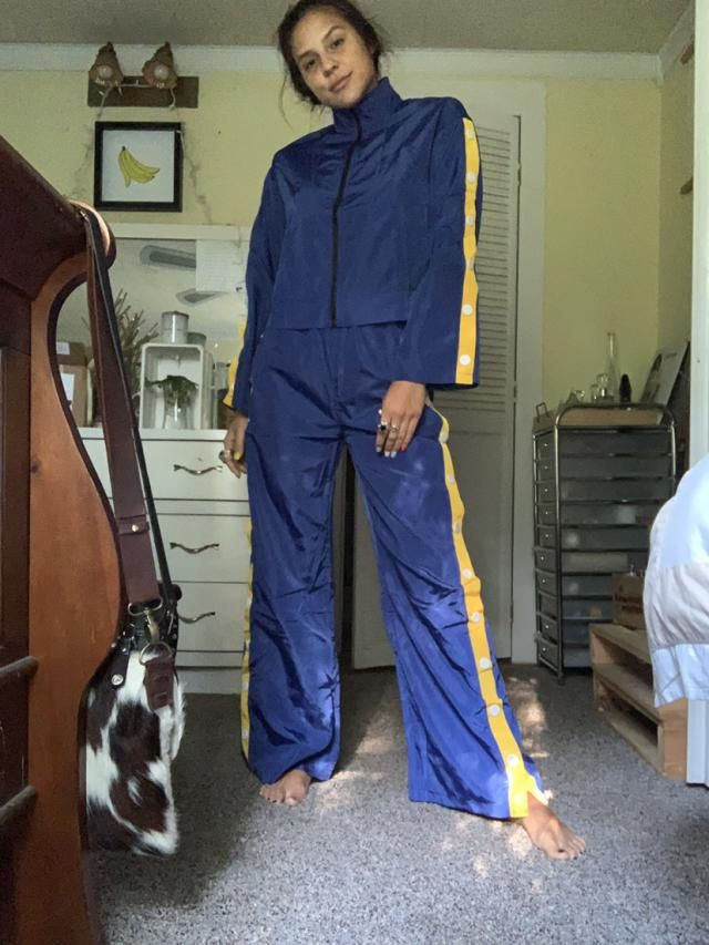 """Perfectly slightly oversized. I'm 5'5"""" 125lbs. Ordered size small. Comfortable and of fantastic material , genuinely. …"""