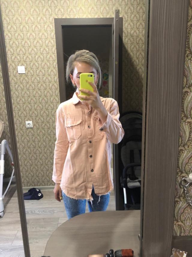Рубашка по качеству очень понравилась. Размер S,M. На девочек побольше будет мала. Цвет не такой яркий, но в целом все…