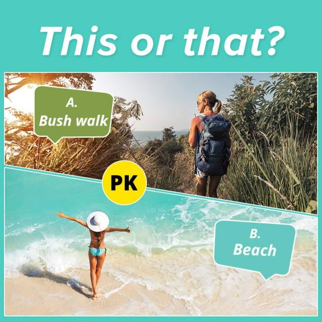 This or that?