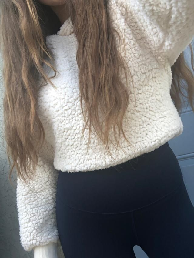 Love this sweater it is so soft and warm! This fits a little over sized on me and is very comfy (: