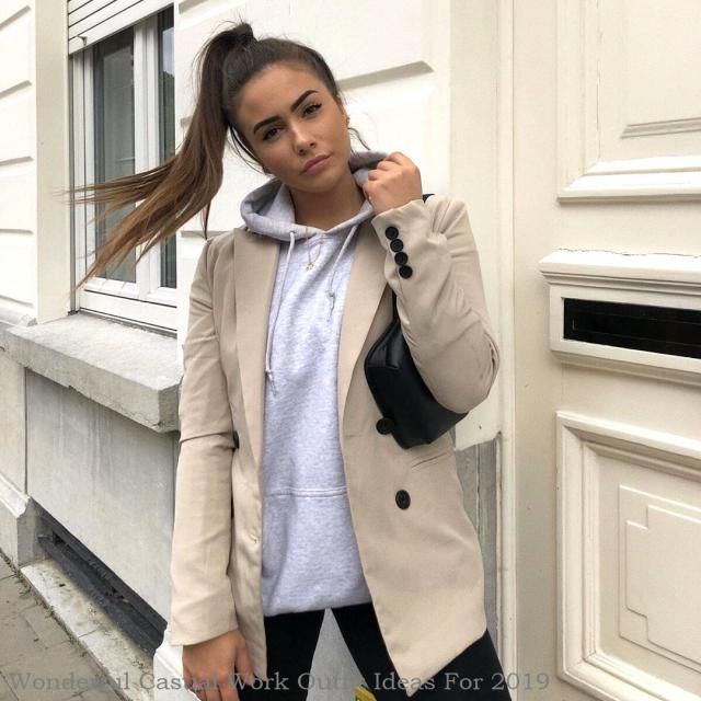 Wonderful Casual Work Outfit Ideas For 2019