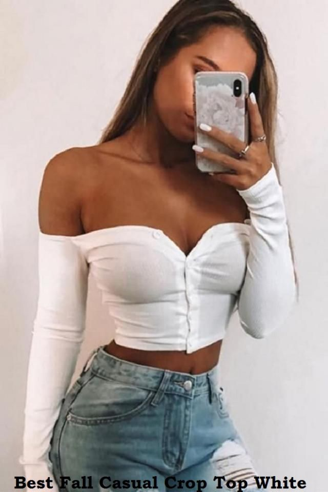 Best Fall Crop Top White Cropped tops are a cure for your wardrobe when trying to get noticed. From beach-ready vibes …