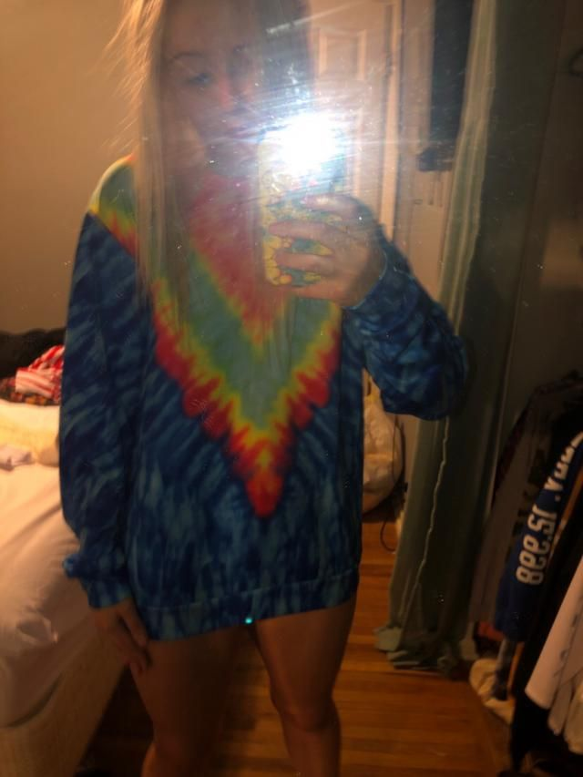 Love it!!!!!!! Material is interesting. Not bad! This material will keep the tie dye to never be faded with I like! Su…