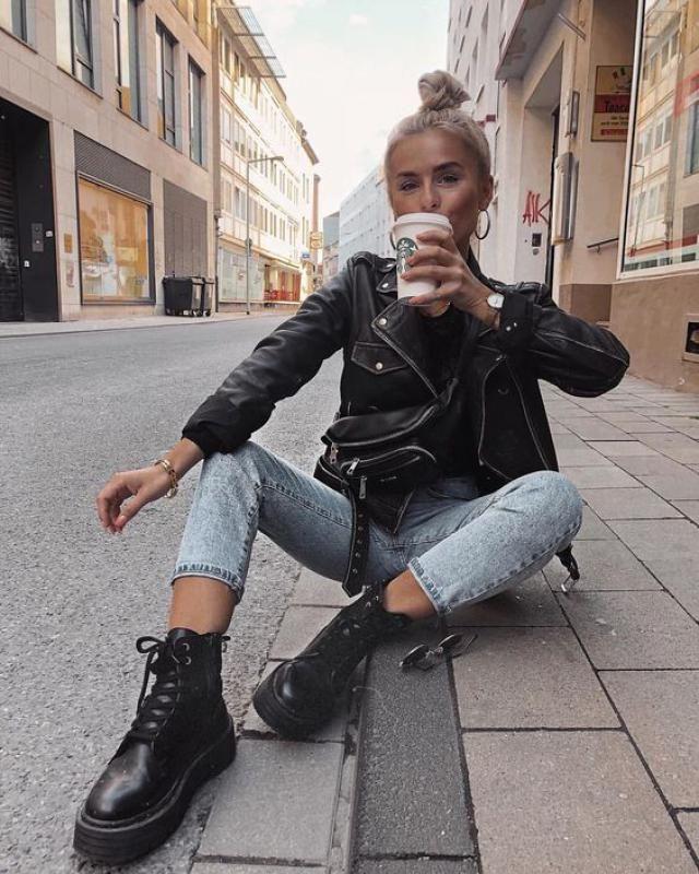 Black Leather Jacket,,,
