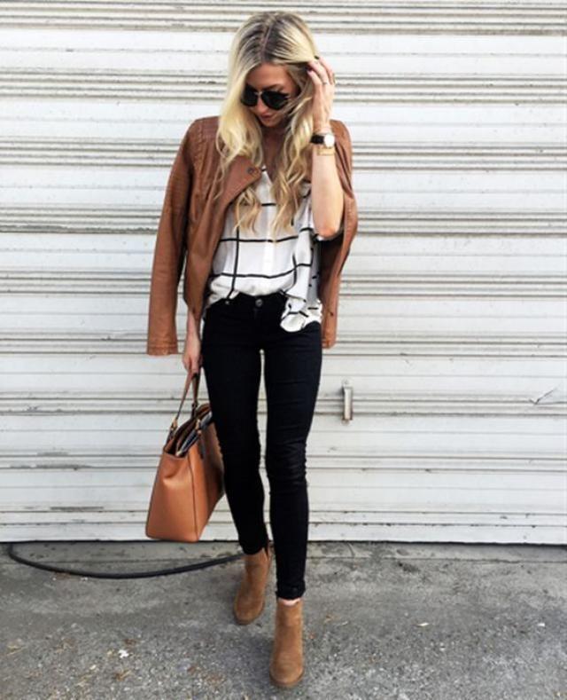 Brown jacket, buy now, women autumn style!!