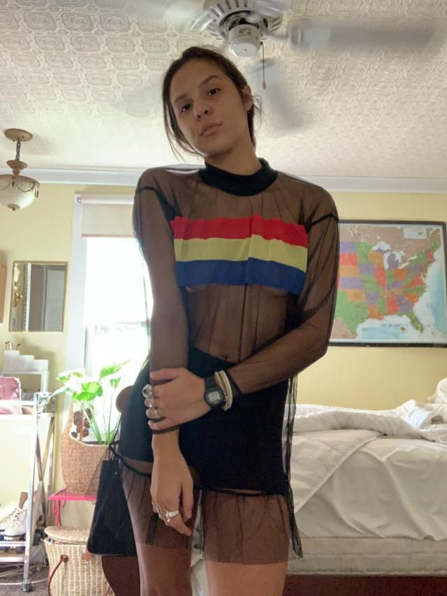This little top/dress intrigued me and I am very glad I got it because it is unlike anything else I have ever seen or …