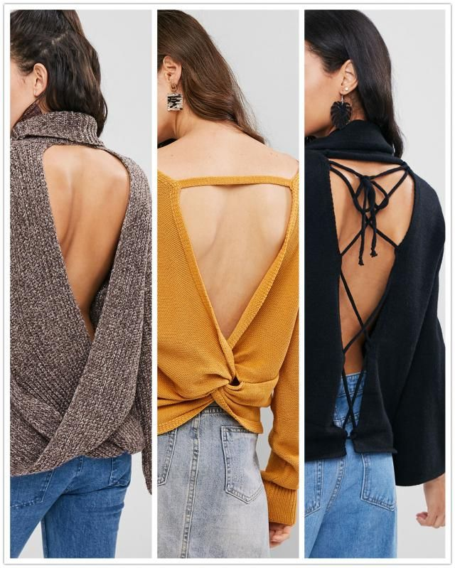 【Vote and Win】 Which Back-design of the sweater is your favorite? Vote for your fave one and tell us the reason. We wil…