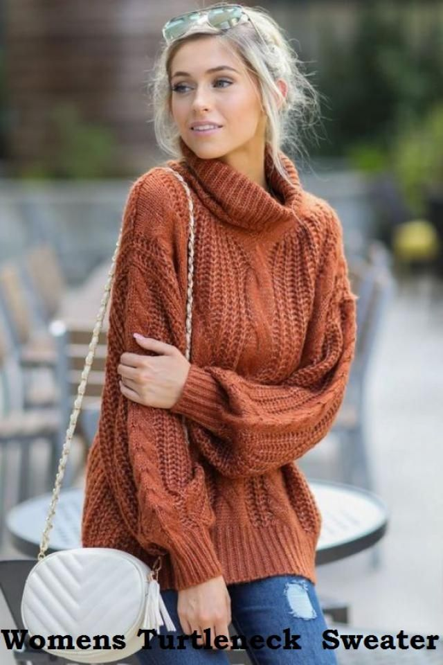 A nice womens turtleneck sweater can be light and breathable or heavy and thick, depending on the person, the style, an…