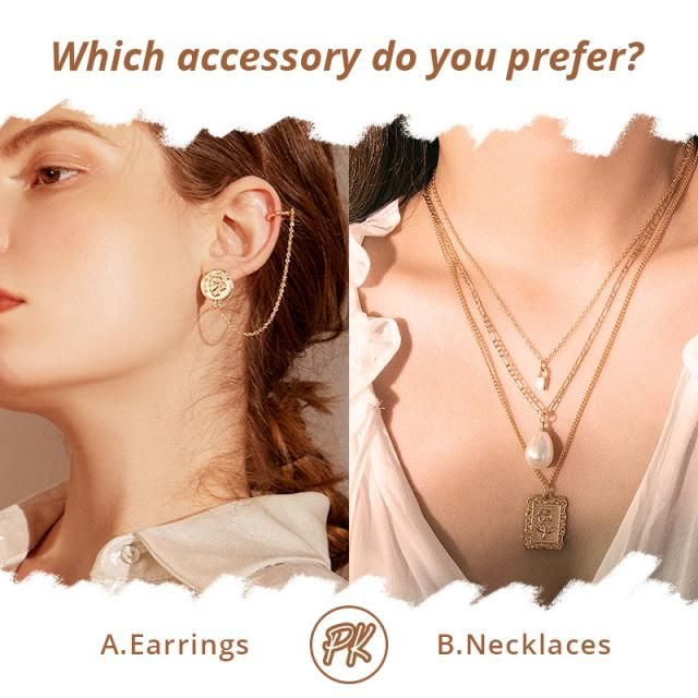 Which accessory do you prefer? 