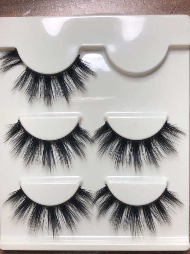 These lashes are very wispy and dramatic which was just was I was looking for. Cheaper than most lashes like this at t…