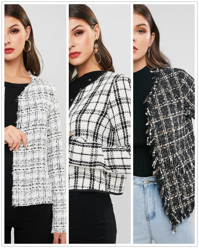 【Vote and Win】 Which plaid coat is your favorite? Vote for your fave one and tell us the reason. We will pick 3 lucky b…