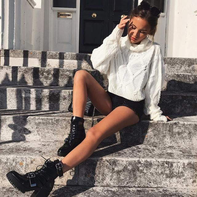 Turtleneck Cable Knit Sweater Perfect casual and trendy look. Zaful offers you a large selection of quality clothing f…