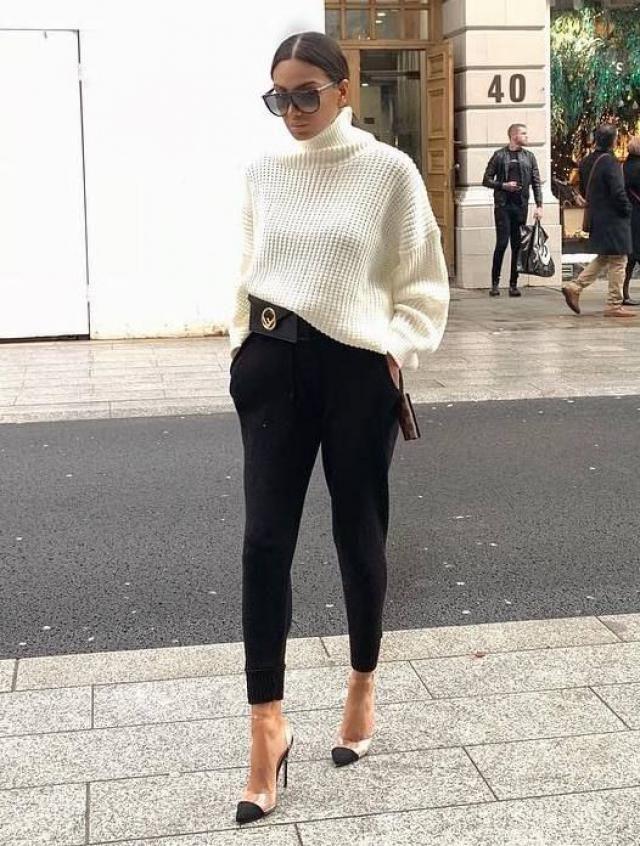ZAFUL Turtleneck Drop Shoulder Crop Sweater  Choose versatile sweaters or turtleeck sweater from Zaful. Come to Zafu…
