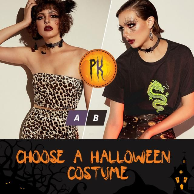 Choose a Halloween costume!