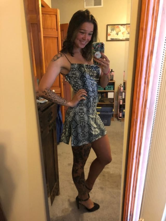 Super soft dress. Straps are very thin but since I don't have much to hold up, they're perfect. Add in the fact that t…