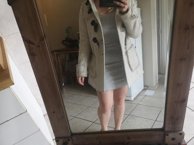 This dress is  nice for under a jacket or coat in winter - I think it's meant for skinnier girls without many curves- …