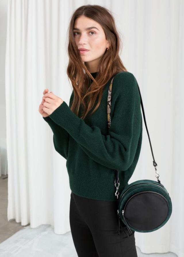 Green sweater, online shop, women style