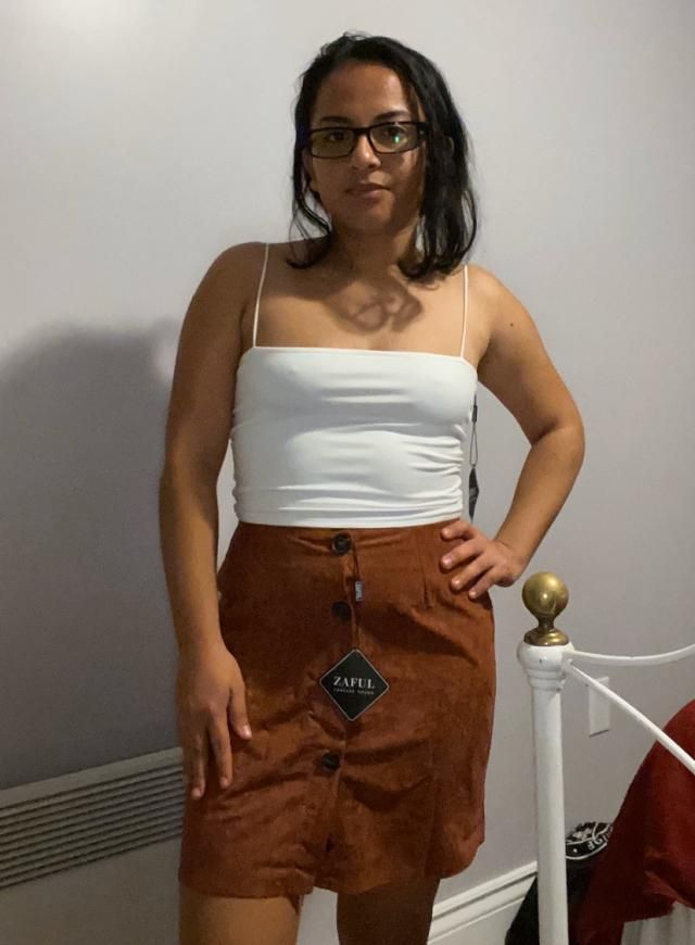 Ugh I'm in love with this skirt! I love it! Great material