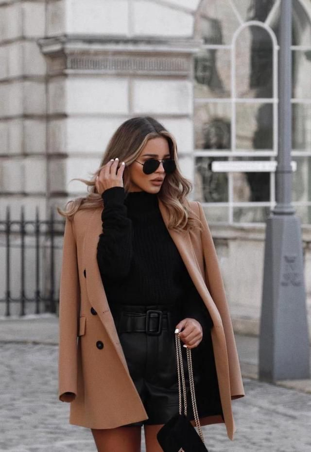 Longline Pocket Peacoat