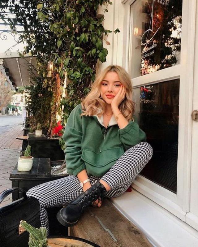 Stripe pants, women style, online shop, autumn style!