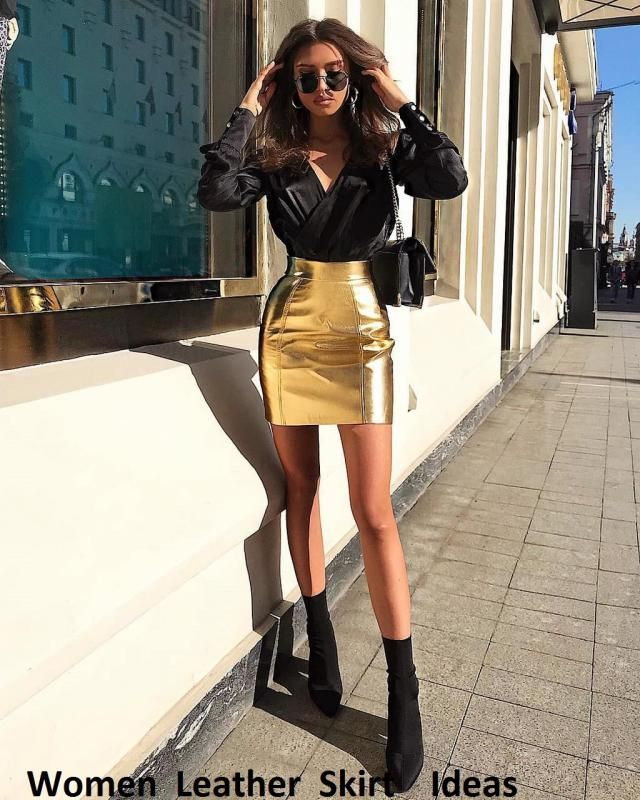 If you want to look effortlessly stylish and sassy then take out your leather skirts, it's time to wear them. You can w…