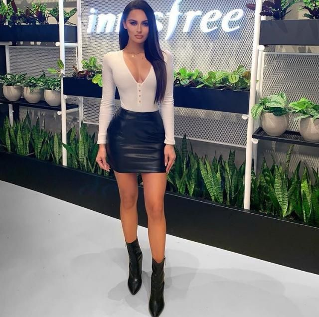 ZAFUL PU Leather Mini Skirt    Beautiful leather skirt with bodysuit .Shop in Zaful, a great quality and good prices, …