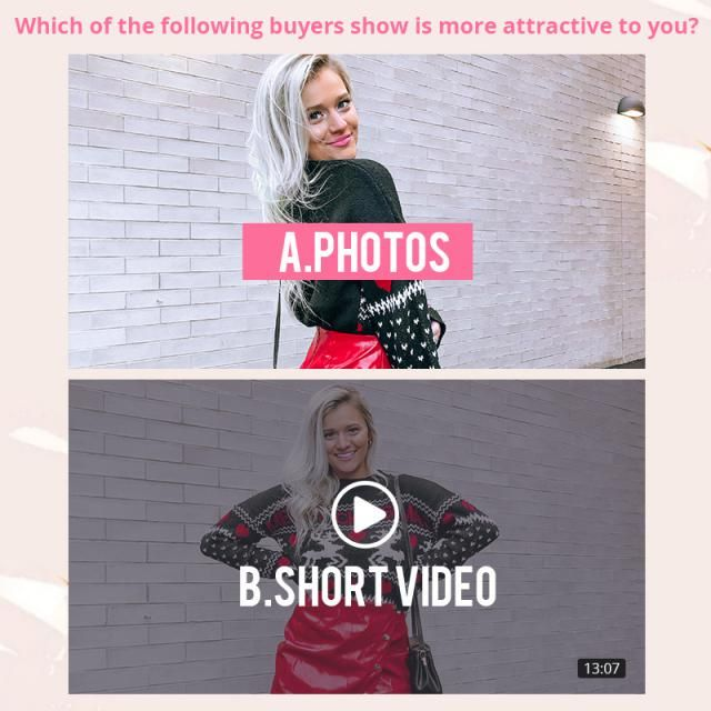 Which of the following buyers show is more attractive to you?