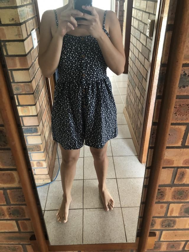 I loved it! it's not tight at all, loose enough and super comfy. I ordered size M