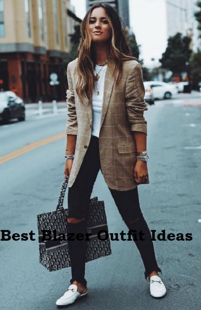 Best Blazer Outfits Ideas Every modern woman knows that a well-fitted jacket is great for instantly fitting the look a…