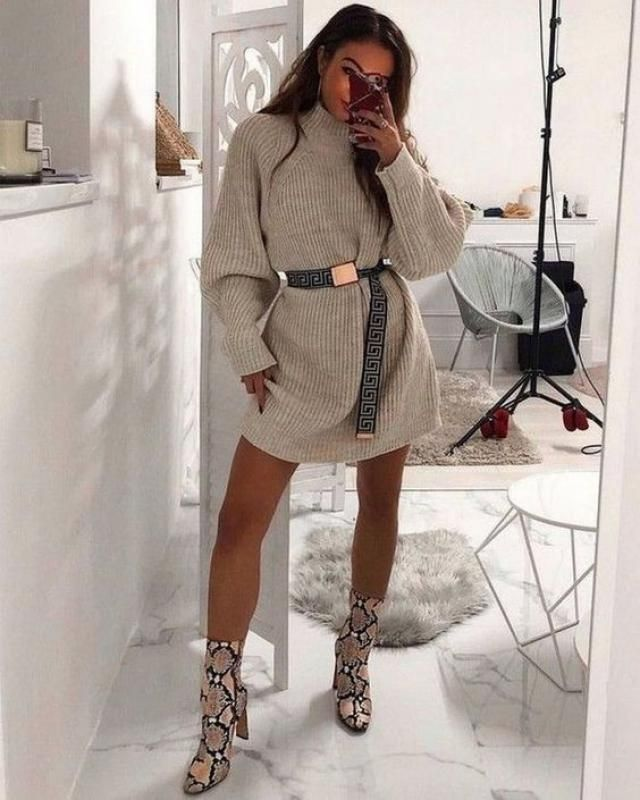 ZAFUL Turtleneck Drop Shoulder Tunic Sweater Dress  Amazon and warm sweater dress! Only in Zaful. Come to Zaful! Shop …