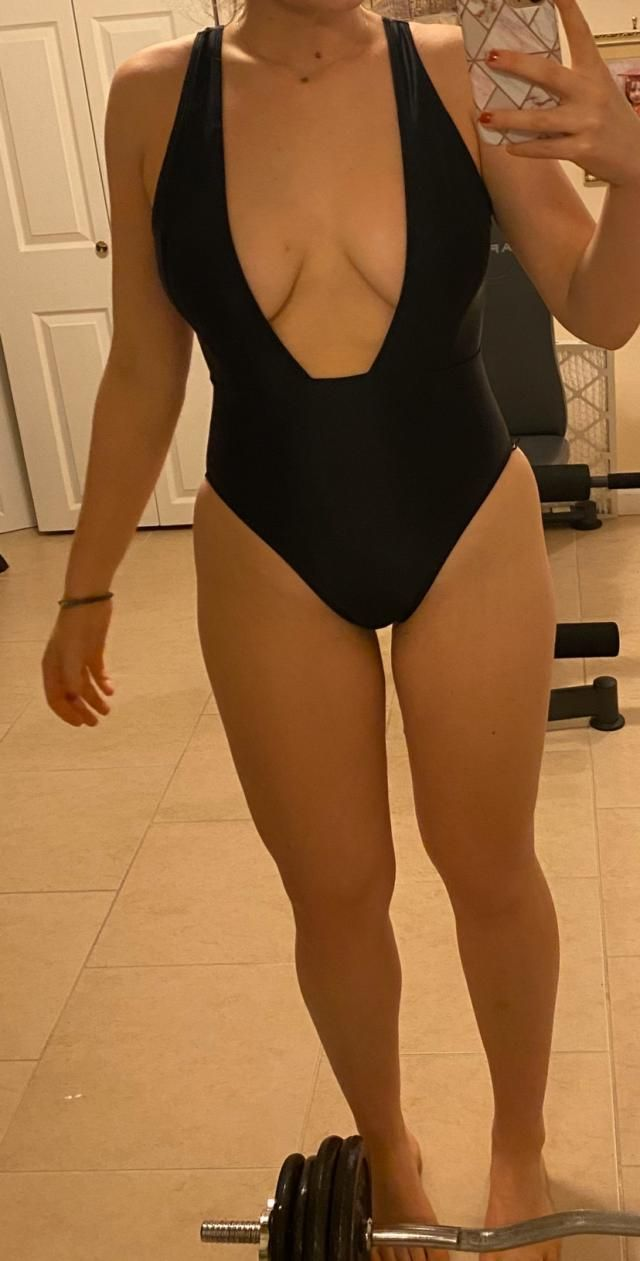 I like this suit, however, the lining on the bottom is taught so it cuts in a little bit. I would also be wear to wear…