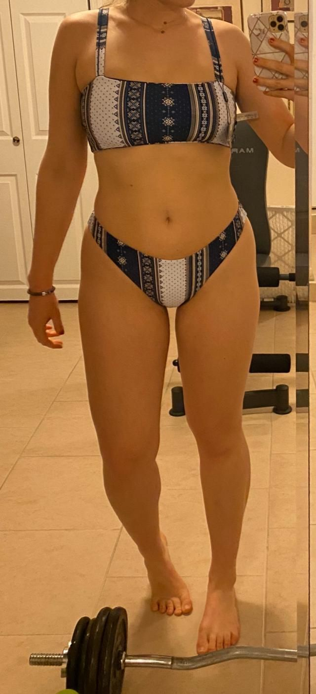This suit has some really great coverage and holds the girls really well. Comfortable and of fantastic material